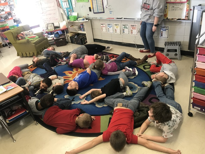 "Acting out ""exhausted"""