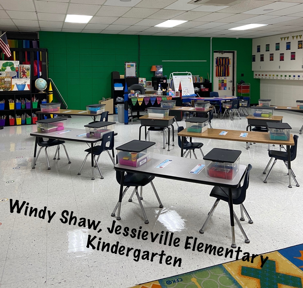 Windy Shaw, Jessieville Kindergarten is Ready for Learning!