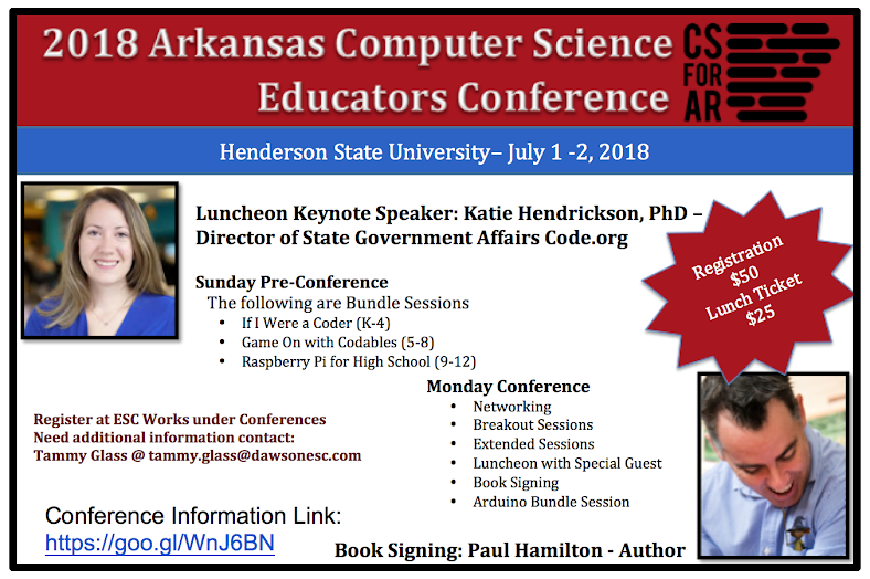 2018 Arkansas Computer Science Educators Conference